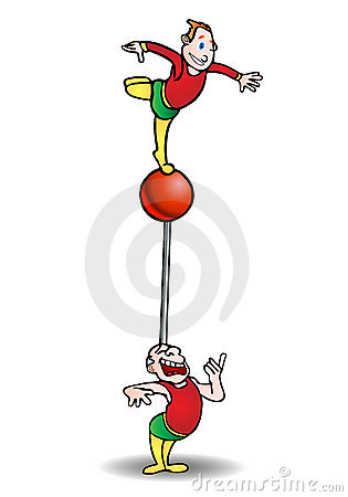 Balanced  acrobat