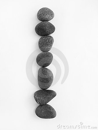 Free Balanced Pebbles Still Life Concept Balance Royalty Free Stock Photography - 5956137