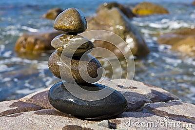 Balanced wet stones