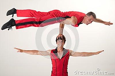 Balancing acrobat