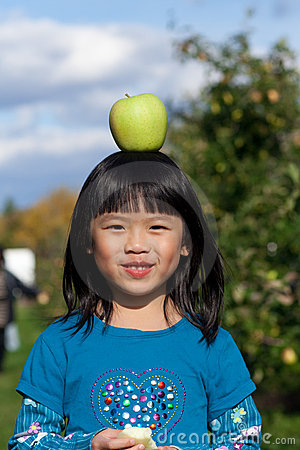 Balancing an Apple