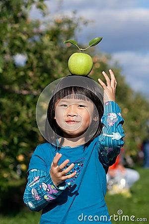 Balancing an Apple
