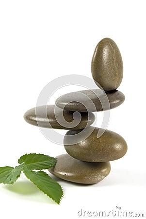 Free Balancing Pebbles Royalty Free Stock Images - 7508969