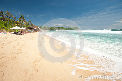 Balangan Beach, Bali Editorial Image