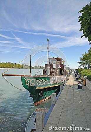 Balatonfuered,Lake Balaton,Hungary