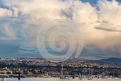 Balboa Beach Stock Images - Image: 28609864