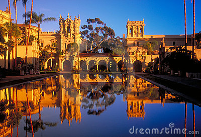 Balboa Park Towers Stock Photo - Image: 12646500