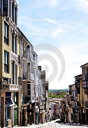 Free Balboraz Street In Zamora Stock Images - 108374464