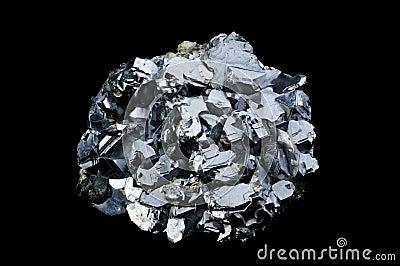 Balck查出的方铅矿galenite