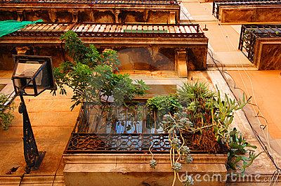 Balconies in Barcelona