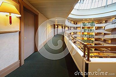Balconies in Iris Congress hotel Editorial Photography