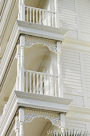 Balcony details