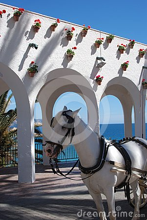Balcony of Europe, Nerja, Andalusia, Spain.