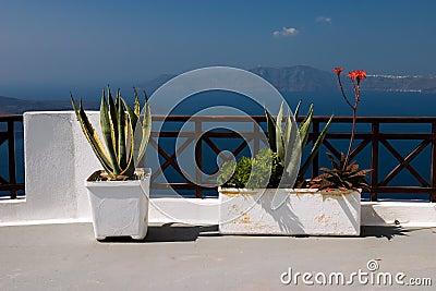 Balcony, Fira (Santorini)
