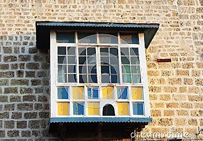 Balcony of house