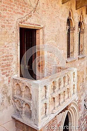 Balcony of Juliets house