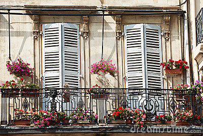 Balcony in Marseille