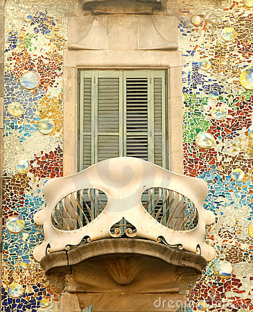 Free Balcony Of Casa Batllo In Barcelona Royalty Free Stock Photo - 13159255