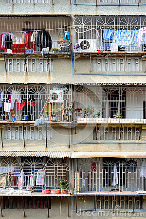 Balcony of residence in South of China Editorial Image
