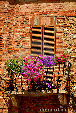 Balcony in Tuscany