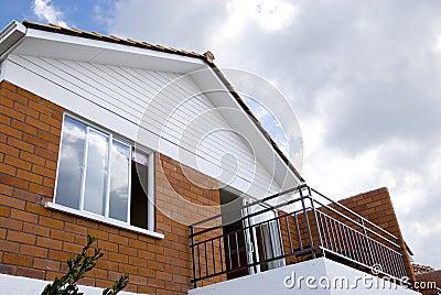 Balcony and window