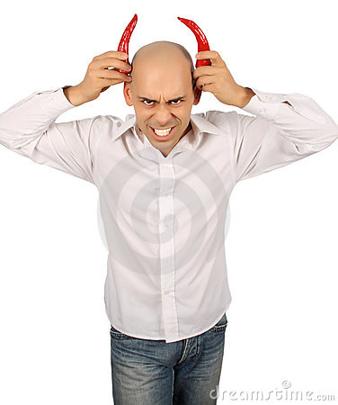Bald devil