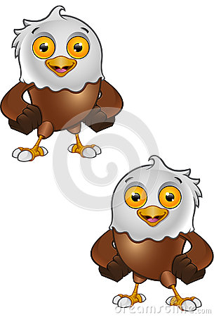 Bald Eagle Character
