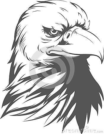 Free Bald Eagle Silhouette Stock Images - 58731314