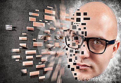 Bald explosion