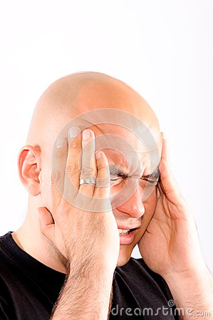 Bald headache