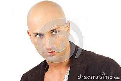 Bald man model