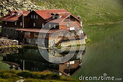 Balea Lake and Restaurant