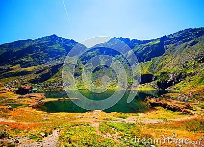 Balea Lake in Romania