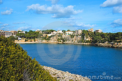 Balearic fishing village