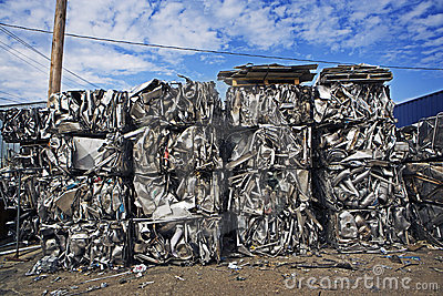 Baled Scrap Metal