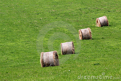 Bales Of Hay Royalty Free Stock Photography - Image: 16956007