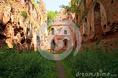 Balga - ruins of medieval castle