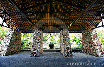 Bali architecture details