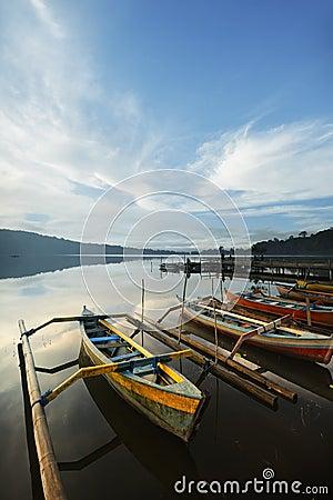 Bali Bratan lake