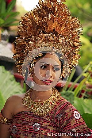 Free Bali Bride Royalty Free Stock Image - 7200436