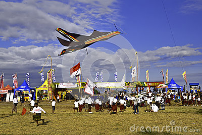 Bali Kite Festival Editorial Photography