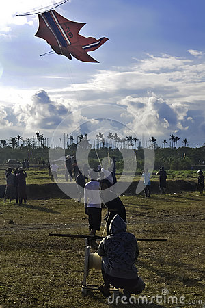 Bali Kite Festival Editorial Photo