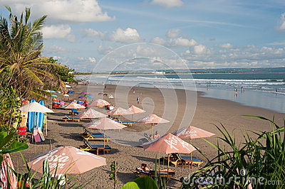 BALI- MAY 9: Located on the western side of the island s narrow Editorial Photography