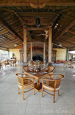 Free Bali Restaurant Interior Stock Photo - 7552480