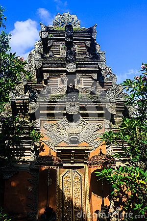 Bali Tempel dans Ubud