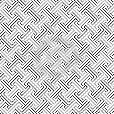 Bali tribal pattern - vector seamless texture