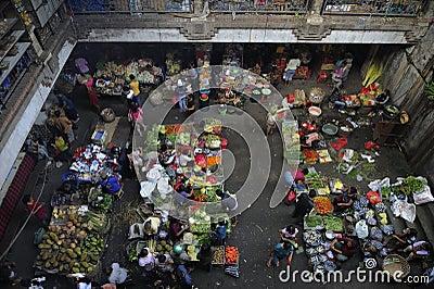 Bali - Ubud market Editorial Photo