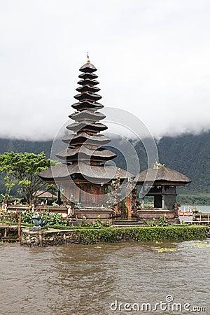 Bali Water Temple Vertical