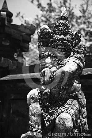 Balinese ancient statue