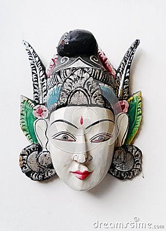 Balinese handicraft mask